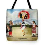 Oaxaca Dancers Tote Bag
