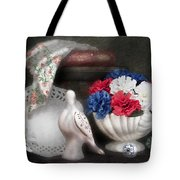 Objects In Still Life Tote Bag