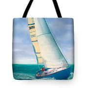 'obsession' Racing On The Atlantic Tote Bag