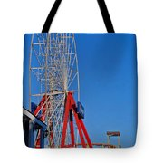 Oc Winter Ferris Wheel Tote Bag