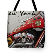 Occ Fdny Motorcycle Tote Bag