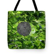 Occupied Bee Hive Tote Bag