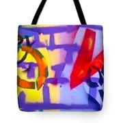 Occupy Graffiti Love Tote Bag