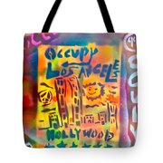 Occupy Hollywood Tote Bag