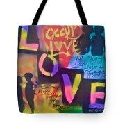 Occupy Love Open Heart Tote Bag