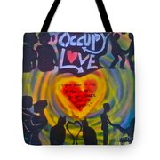 Occupy The Heart Tote Bag