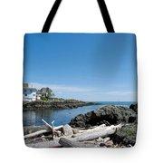 Ocean Front Living Tote Bag