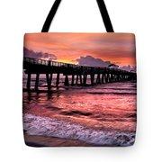 Ocean Lace Tote Bag