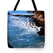 Ocean Lines Tote Bag
