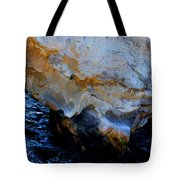 Shell Beach Ocean Tunnel Tote Bag