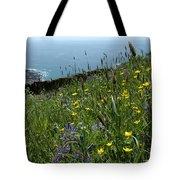 Ocean Wildflowers Tote Bag