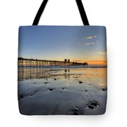 Oceanside Pier Tote Bag