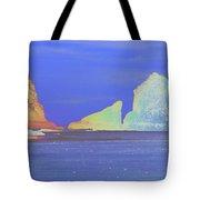 Oceanside Rocks Tote Bag