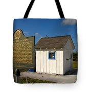 Ochopee Post Office Tote Bag by David Lee Thompson