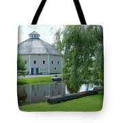 Octagonal Barn Reflects Tote Bag