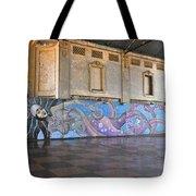 Octo-mermaid Tote Bag