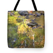 October Colors Reflected Tote Bag