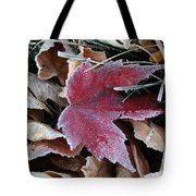 October Frost Tote Bag