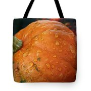 October Rain Drops Tote Bag