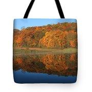 October Scene Tote Bag