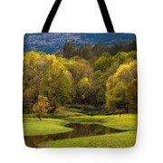 October Serenity Tote Bag