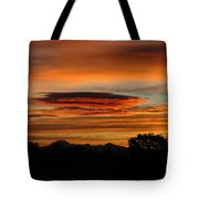 October's Colorful Sunrise 2 Tote Bag