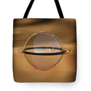 Ode To Saturn Tote Bag