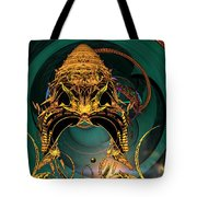 Of Crowns Masks And Things Yet Unseen Tote Bag