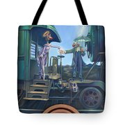 Of Thee I Sing The Body Electric Tote Bag