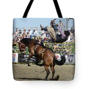 Rodeo Off In A Flash Tote Bag