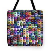 Off The Chart Tote Bag