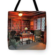Office At Gillette Castle Tote Bag
