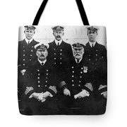 Officers Of The Titanic, 1912 Tote Bag