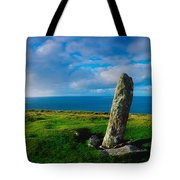 Ogham Stone, Dunmore Head, Dingle Tote Bag