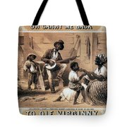 Oh Carry Me Back To Ole Virginny, 1859 Tote Bag