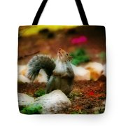 Oh I Ate To Many  Nuts Tote Bag
