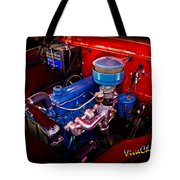 Oh So Simple Sanitary Truck Engine Tote Bag