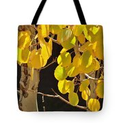Oh Those Golden Leaves Tote Bag
