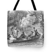 Ohio River: Emigrants Tote Bag