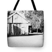 Ohio Shed Bw Tote Bag