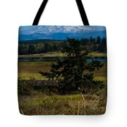 Ohop Valley Rainier Tote Bag