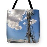 Oil Derrick I Tote Bag