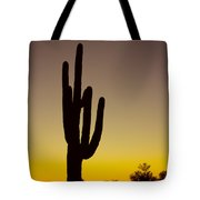 Okay Sunrise Tote Bag