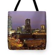 Okc Evening II Tote Bag