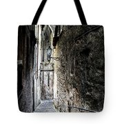 old alley in Italy Tote Bag