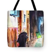 Old And Lonely In Morocco 03 Tote Bag