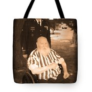 Old And New Veterans Tote Bag