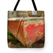 Old And Wrinkled Tote Bag