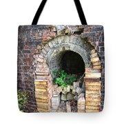 Old Antique Brick Kiln Fire Box Tote Bag