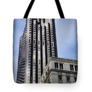Old Architecture Is Juxtaposed Tote Bag